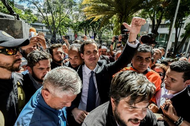 venezuela opposition leader cranks up pressure on maduro