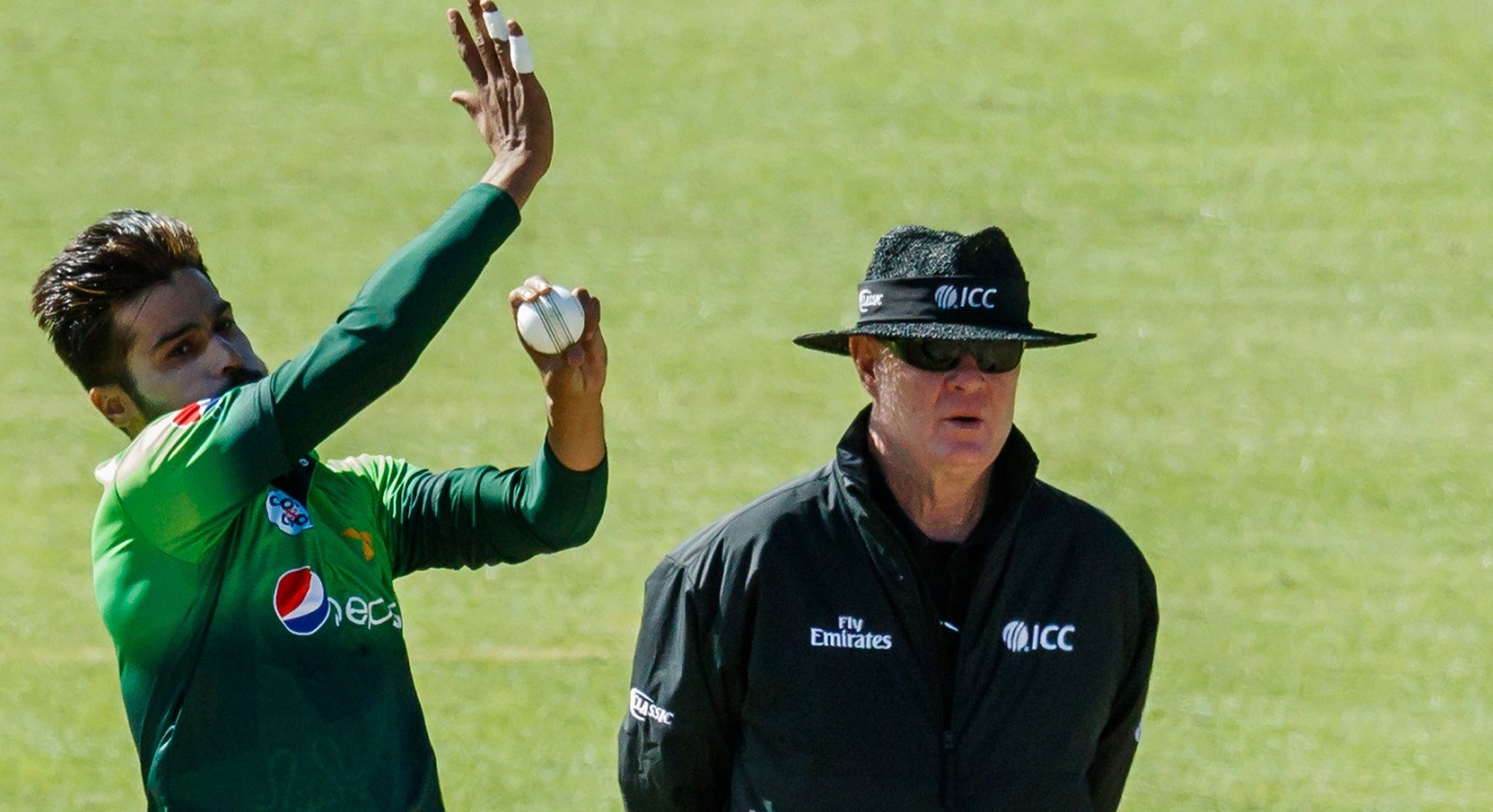 amir named in pakistan squad for south africa t20is