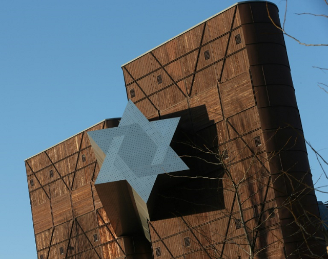 The new holocaust museum 'House of Fates' in Budapest has not opened due to wrangles over its concept and depiction of Holocaust history. PHOTO: AFP