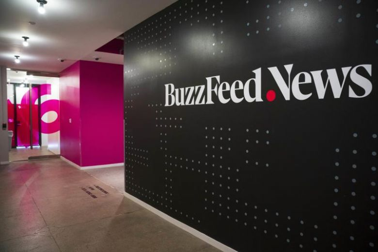 Free online news Buzzfeed and HuffPost went through new rounds of lay-offs in the past week. PHOTO: AFP