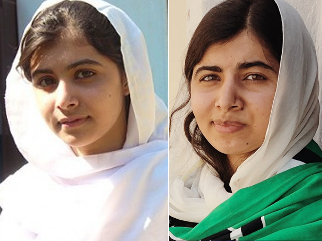 malala shares her 10yearchallenge in an emotional post