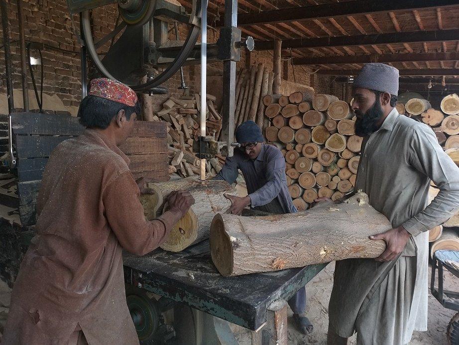 facing neglect darya khan s slumping timber mandi