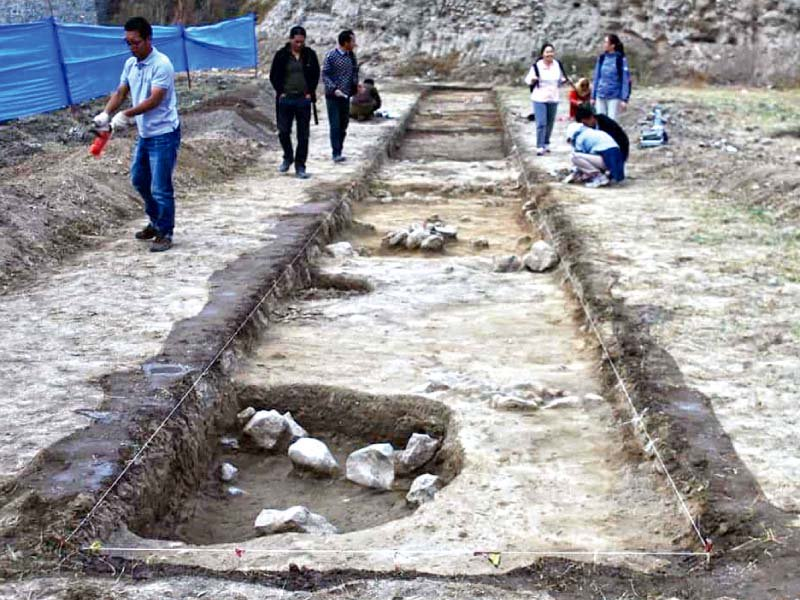 uncovering history 4 000 year old artefacts found near khanpur