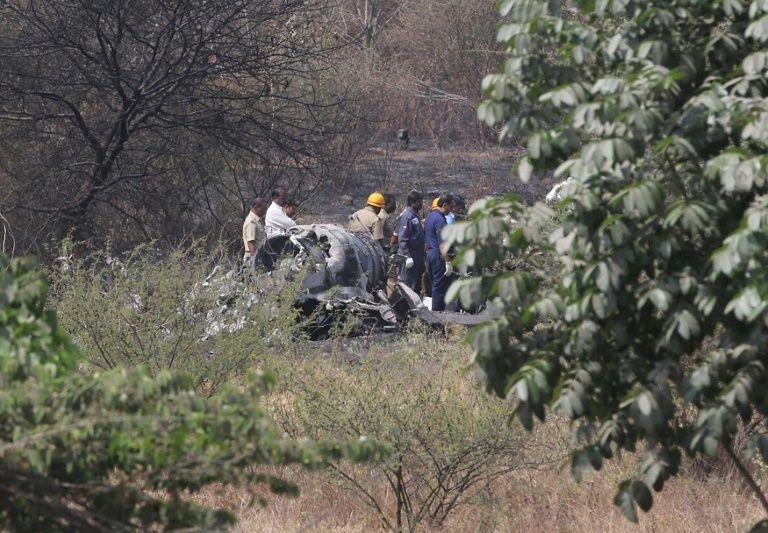 two indian fighter pilots die in mirage crash