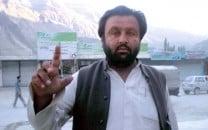 political prisoner baba jan hunzai suffers from ill health