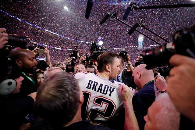 history for tom brady as patriots down rams to win sixth super bowl title