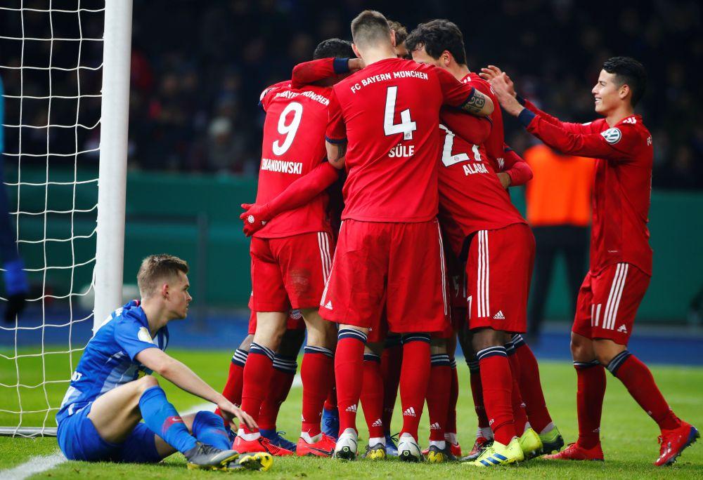 coman grabs winner as bayern outlast hertha in german cup