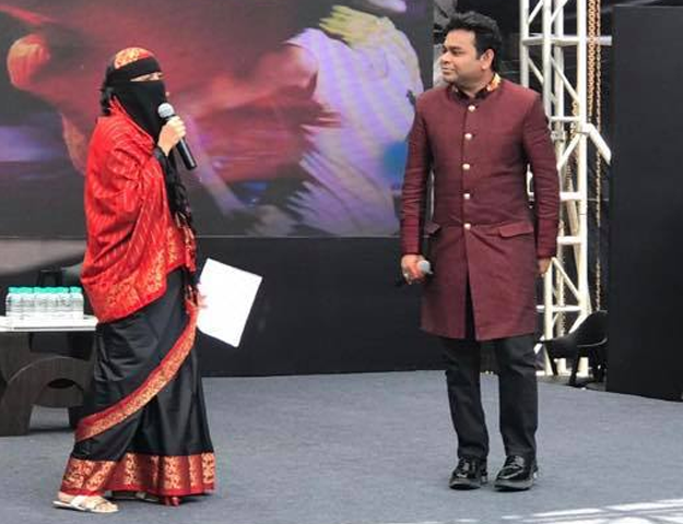 a r rahman responds to criticism over daughter s niqaab