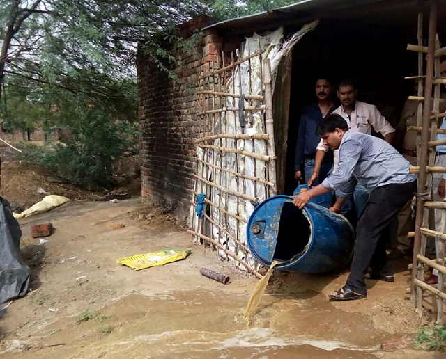 cheap locally made liquor is common in parts of rural india where bad or adulterated batches can have deadly effects for poor consumers photo afp