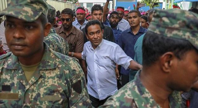maldives arrests former president yameen for money laundering