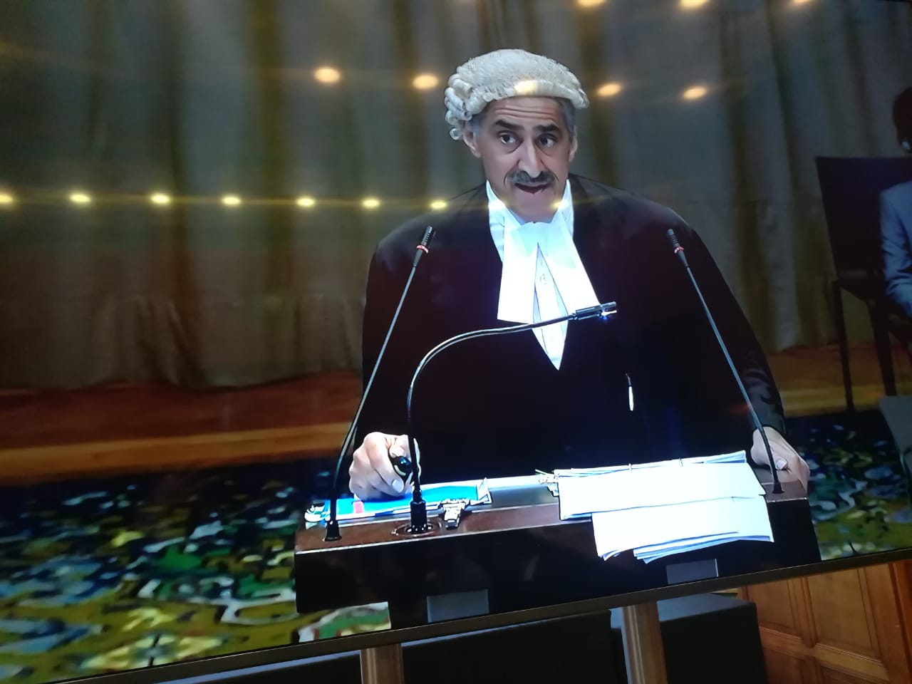 pakistan rips apart india s contradictory claims in jadhav case at icj