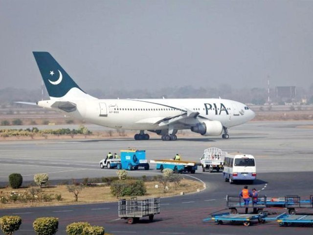 flights delayed at lahore airport after pothole emerges on runway