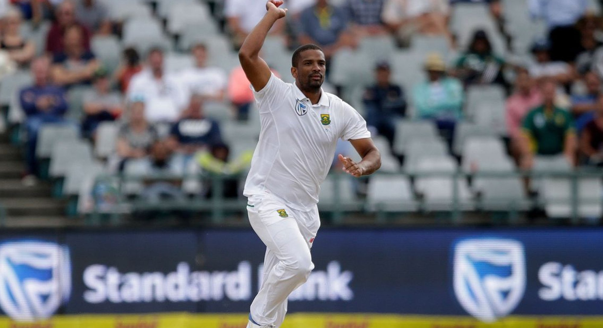 south africa s philander ruled out of second test