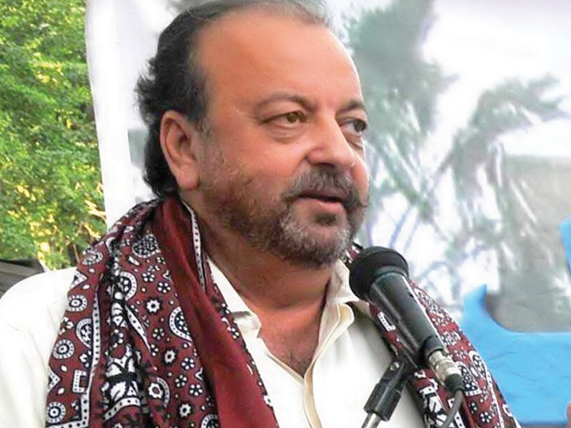 A file photo of Speaker Sindh Assembly Agha Siraj Durrani. PHOTO: EXPRESS