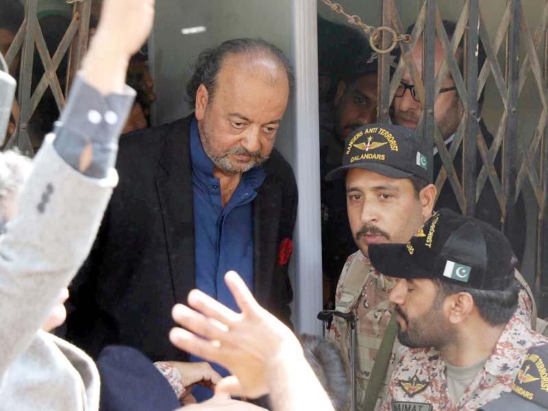 durrani remanded to nab custody till march 1