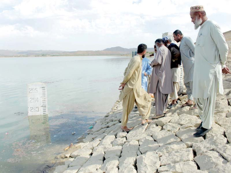 kwsb to resume supply as hub dam level touches 300ft mark