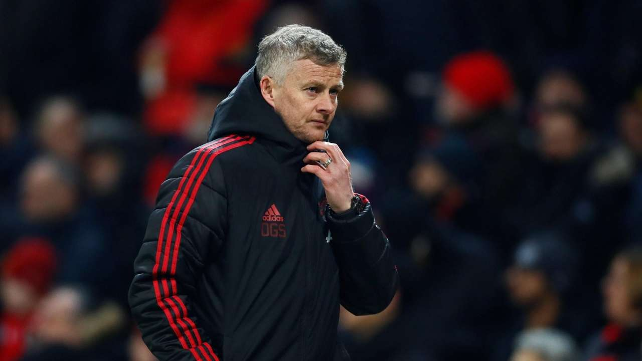 red devils have won eight of nine premier league matches under their interim manager to reach the top four spot photo reuters