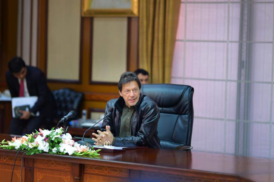 imran reiterates resolve to hold everyone accountable