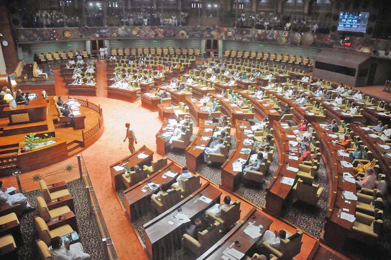sindh assembly session photo file