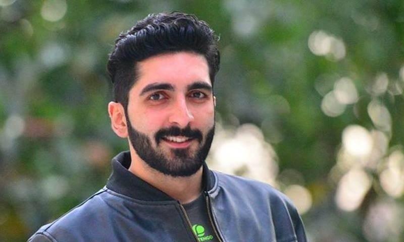 Kashmiri journalist Jibran Nazir. ─ PHOTO COURTESY: THE INDIAN EXPRESS