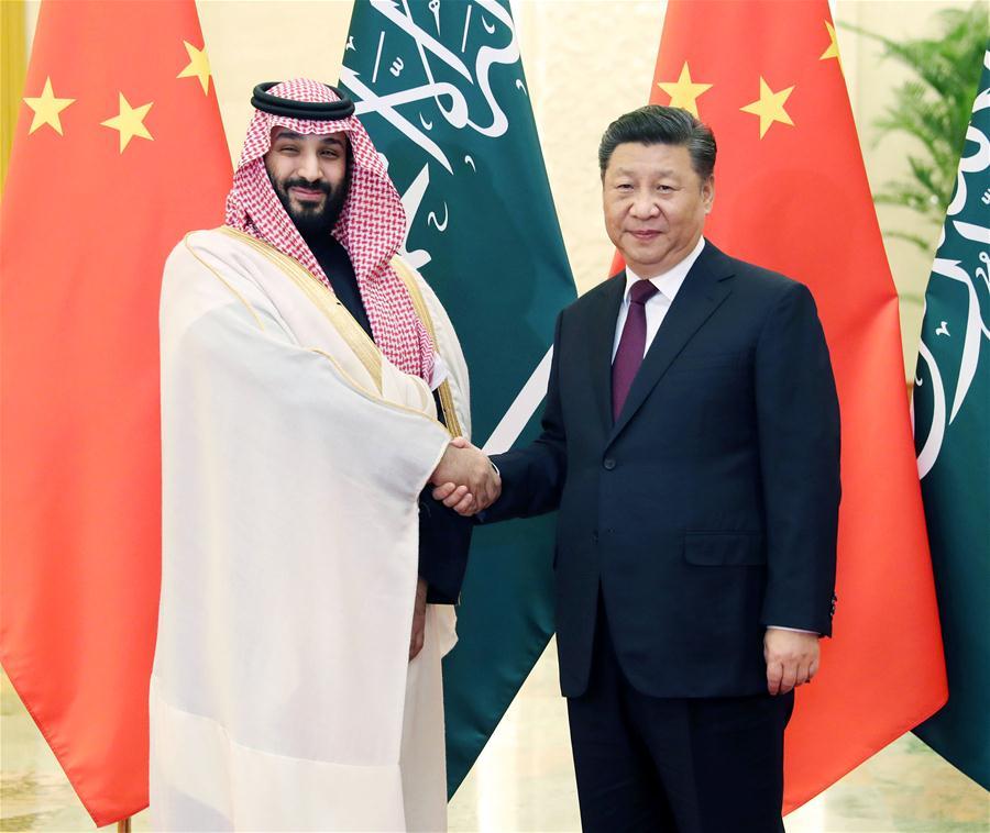 saudi crown prince backs china s counter terrorism measures in xinjiang