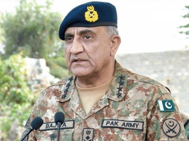 gen qamar javed bajwa visits working boundary lauds high moral and readiness of troops photo file