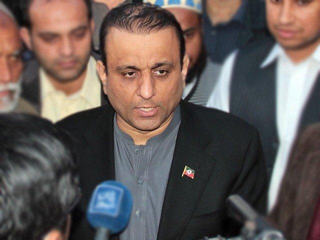 PTI's Aleem Khan. PHOTO: FILE