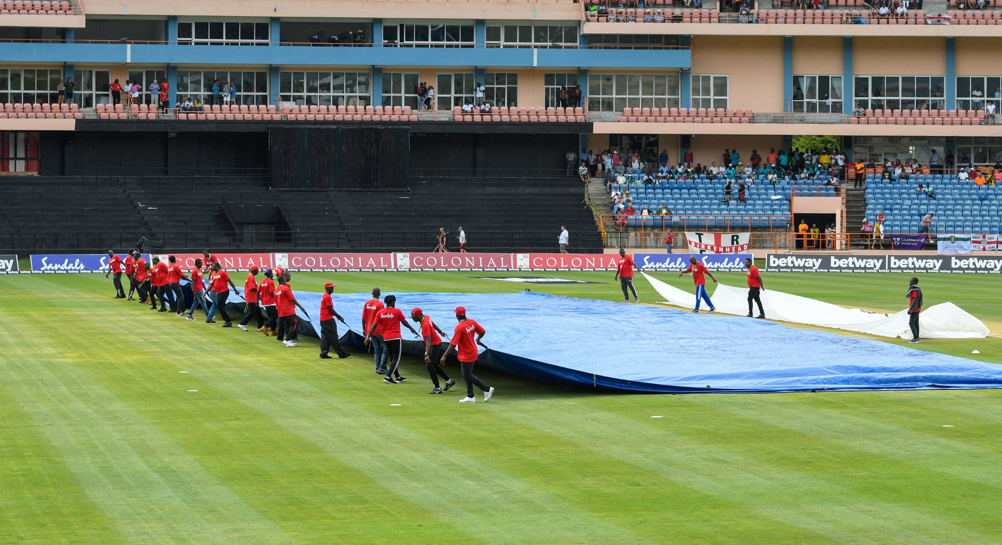 west indies and england third odi abandoned due to rain