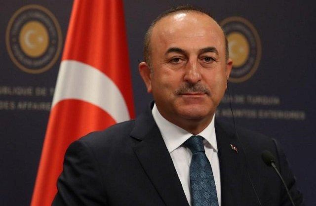 Turkish Foreign Minister Mevlut Cavusoglu calls Shah Mehmood Qureshi to discuss Pak-India escalation PHOTO: REUTERS