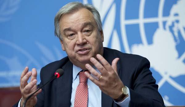 Antonio Guterres, UN High Commissioner for Refugees UNHCR. UN Photo / Jean-Marc Ferré