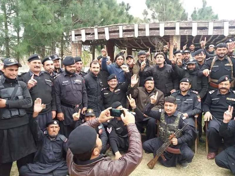 khasadar force refuses to hand over charge to k p police