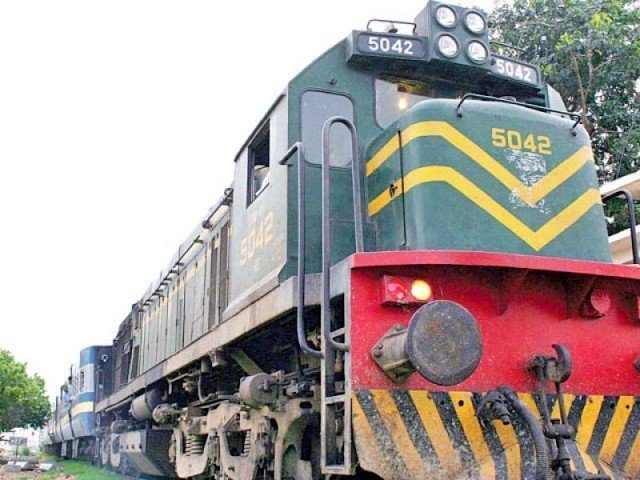 the train was suspended last thursday in the wake of prevailing situation between pakistan and india photo file