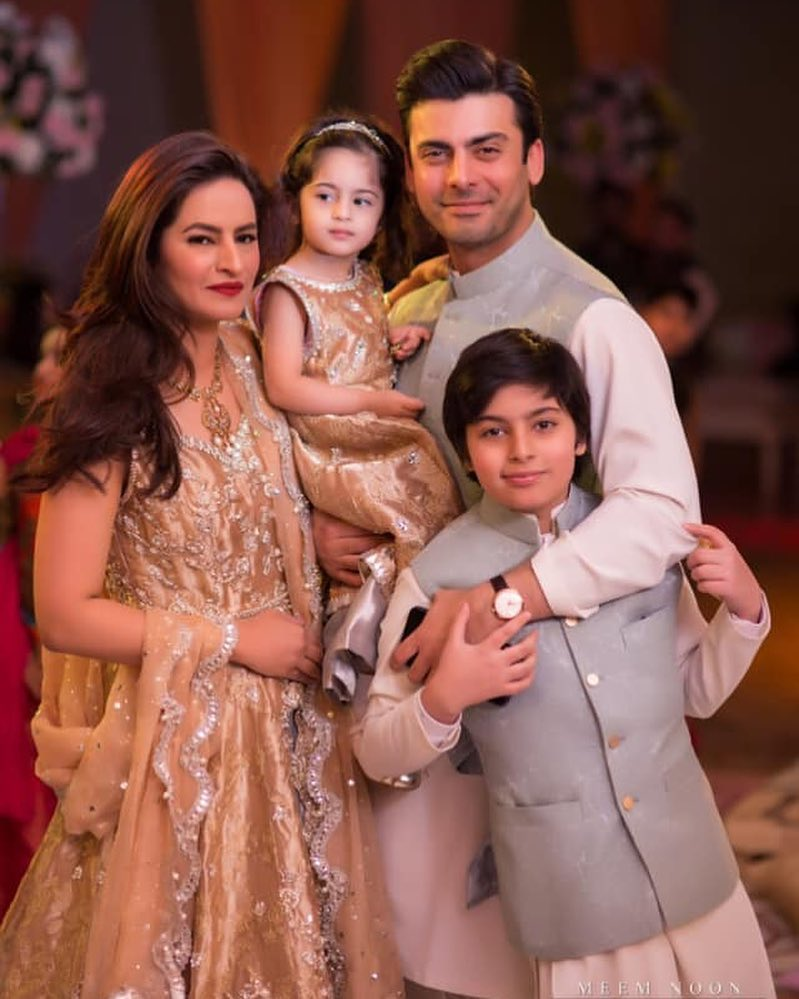fans swoon over fawad khan sadaf s pictures from recent family wedding