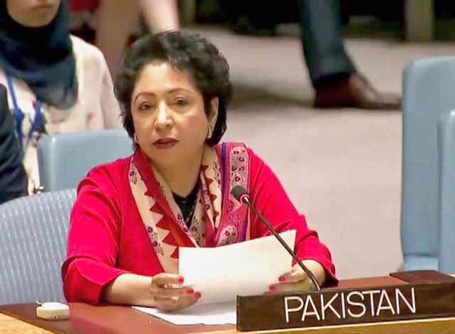 pakistan 039 s permanent representative to the united nations maleeha lodhi photo twitter