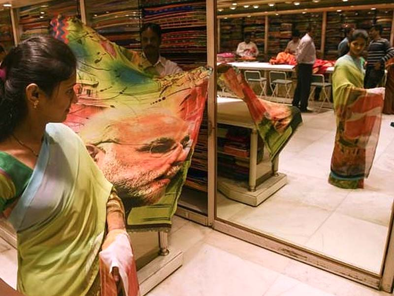 modi is seeking a second term in office when world 039 s largest democracy heads to polls photo afp