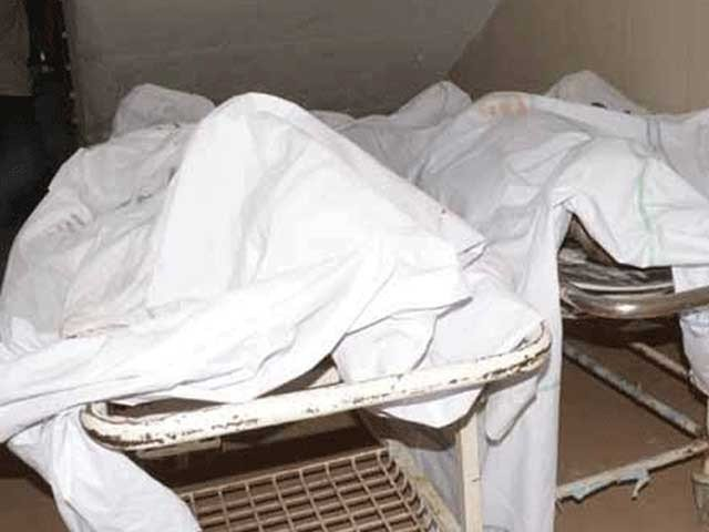 mlo jinnah hospital has said that a post mortem of the bodies has not been conducted photo file