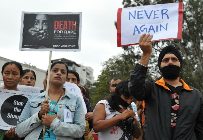 india has a grim record of sexual violence as highlighted by gang rape and murder of a woman on a delhi bus in 2012 photo afp