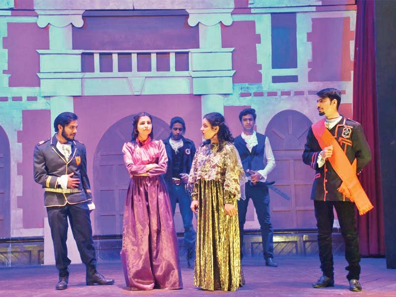 edwardes college dramatics society performs othello photo express