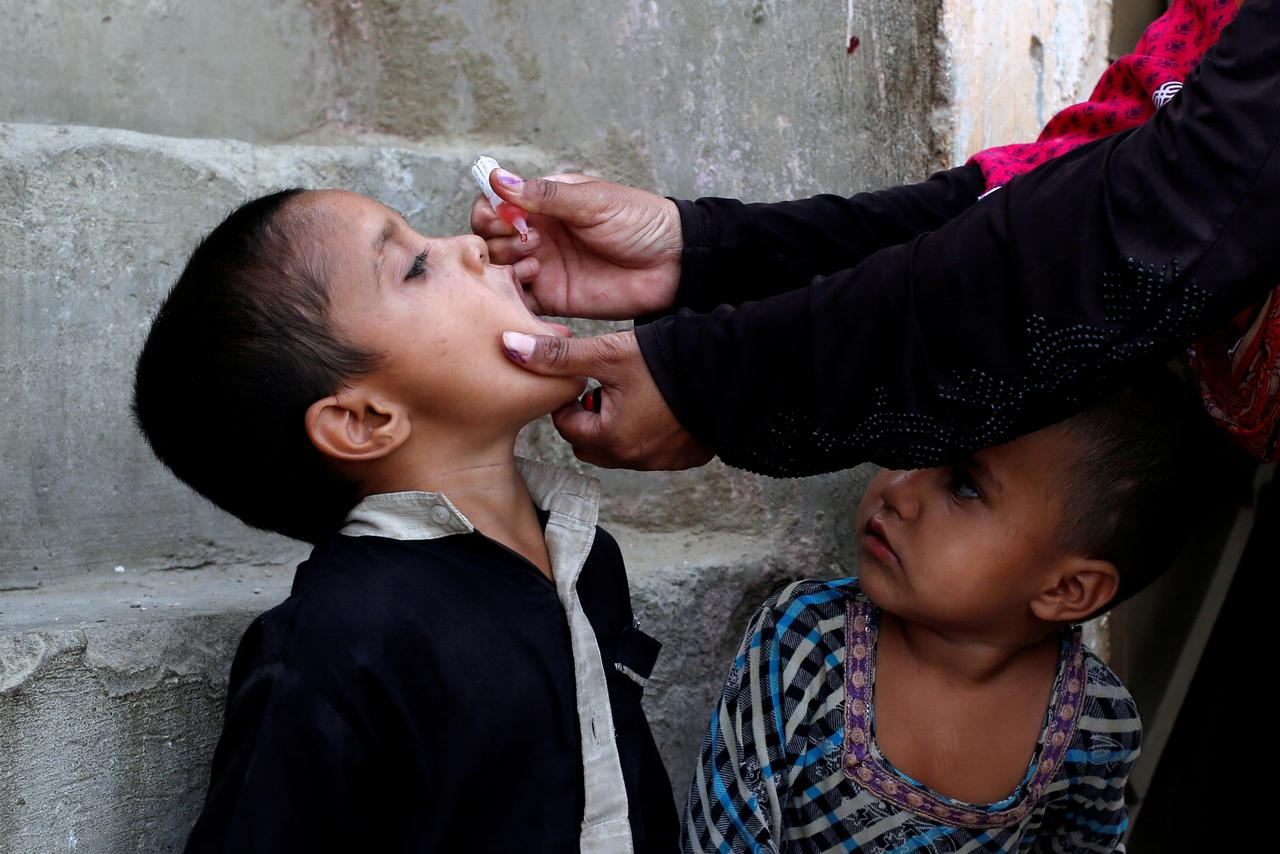 parental refusals due to misconceptions regarding the vaccine are emerging as major obstacle photo reuters file