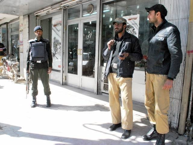 intelligence agencies and the ctd undertake action against banned outfits photo file