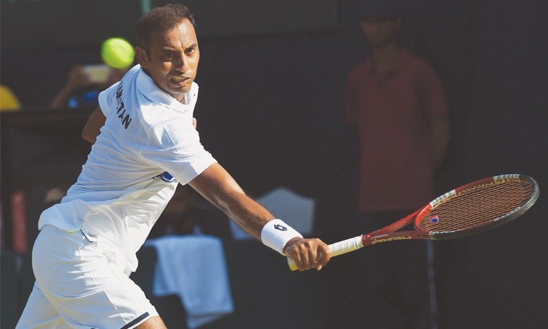 aqeel khan clinches kp open tennis title