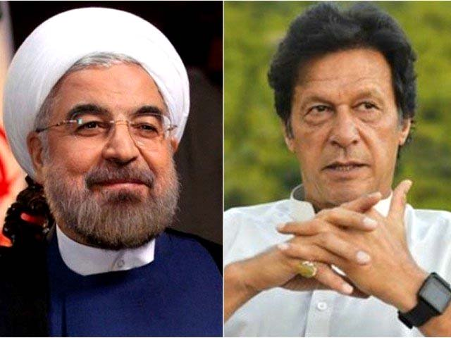 President Rouhani (L) and Prime Minister Imran Khan (R). FILE PHOTOS