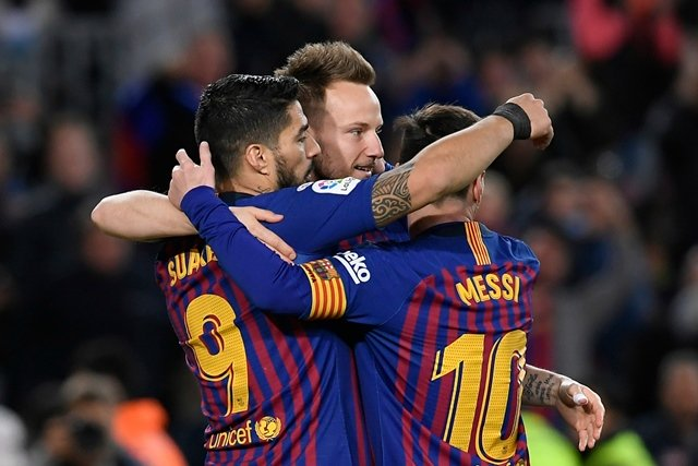 barcelona 039 s last 16 tie with lyon hangs in the balance after a goalless draw in france while atletico hold a 2 0 lead over juve but can expect an onslaught in turin photo afp