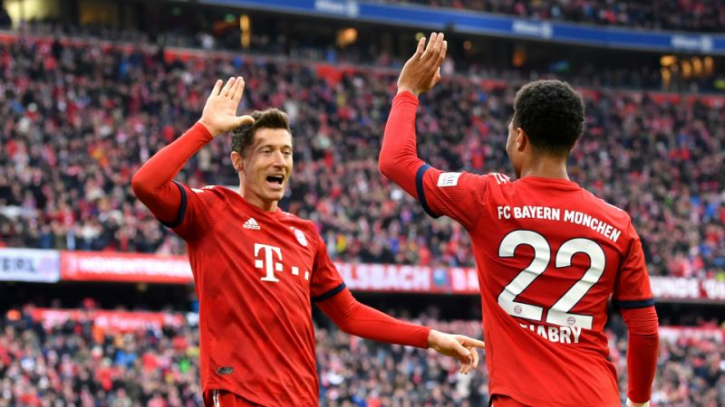 liverpool 039 s future looks bleak at the allianz arena as lewandowski who loves scoring against wolfsburg and now has 20 goals in 17 games against them netted twice in munich photo afp