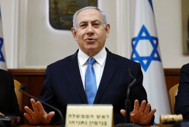netanyahu says israel not a state of all its citizens
