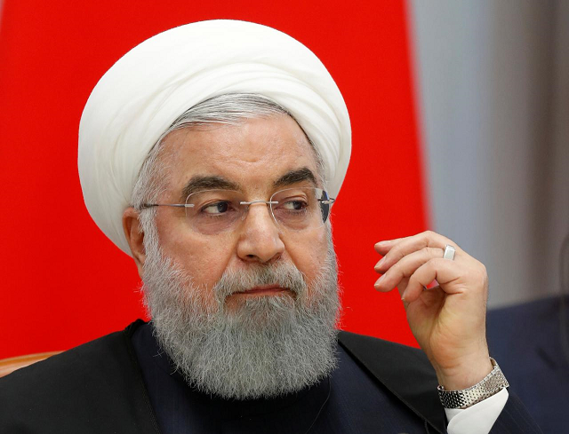 iranian president hassan rouhani attends photo reuters