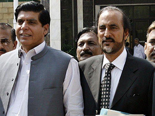 raja pervaiz ashraf and babar awan photo file