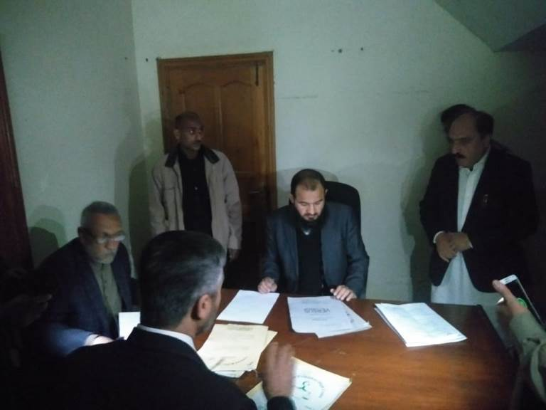 newly established courts in tribal districts start working