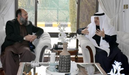 chief minister jam kamal exchanges views with saudi arabia ambassador to pakistan nawaf bin said al malki photo express