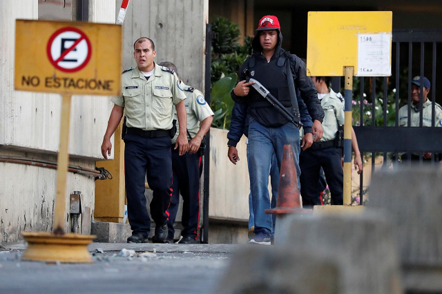 it did not say on what day the personnel would be withdrawn from the embassy in caracas photo reuters